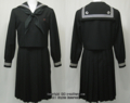 江東商業高校の制服(冬)