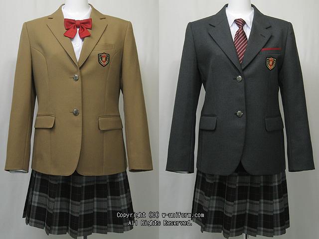 鹿島 学園 制服