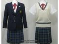 白鵬女子高校の制服