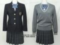 多摩大学目黒中学校の制服