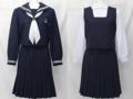 向島中学校の制服