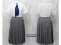 大妻中野高校の制服(夏)旧