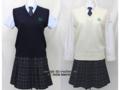 上野学園高校の制服(夏・中間)