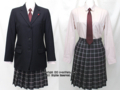 蒲田女子高校の制服(冬)