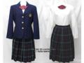 日本大学第三中学校の制服(冬)