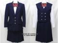 東横学園高校の旧制服(冬)