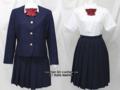 広島三育学院高校の制服(冬・夏)
