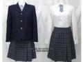 福島県立いわき総合高校の制服(冬)