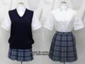 秀明八千代高校の制服(夏)旧