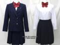 横浜市立岡津中学校の制服(冬)