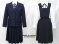 和洋九段女子高校の制服(冬)旧