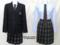 東京文化高校の制服(冬)旧