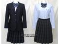 目黒学院高校の制服(冬)