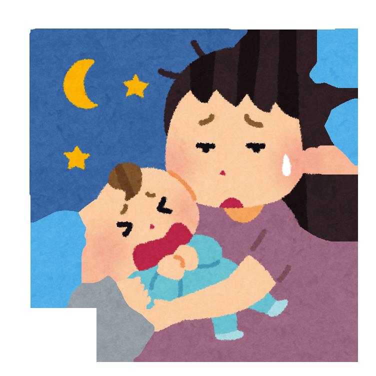 赤ちゃんは泣くのが仕事!~夜泣き、癇の虫には!