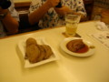 鳥レバパテと豚角煮