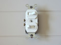 Leviton 5224 Comb. TWO S.P. Switches