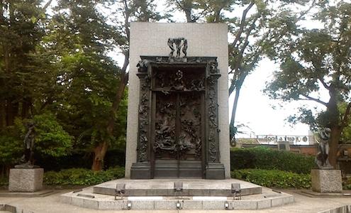 国立西洋美術館 オーギュスト・ロダン 地獄の門