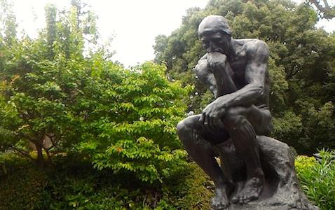 国立西洋美術館 オーギュスト・ロダン 考える人