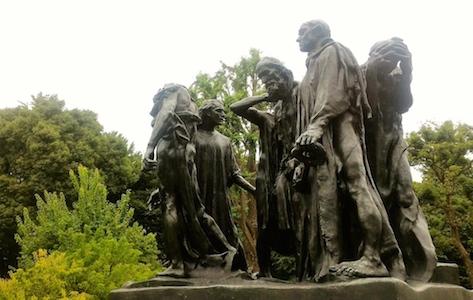 国立西洋美術館 オーギュスト・ロダン カレーの市民