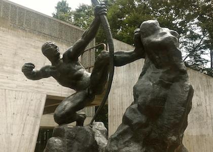 国立西洋美術館 オーギュスト・ロダン 弓を引くヘラクレス