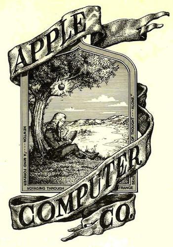 apple 初期マーク