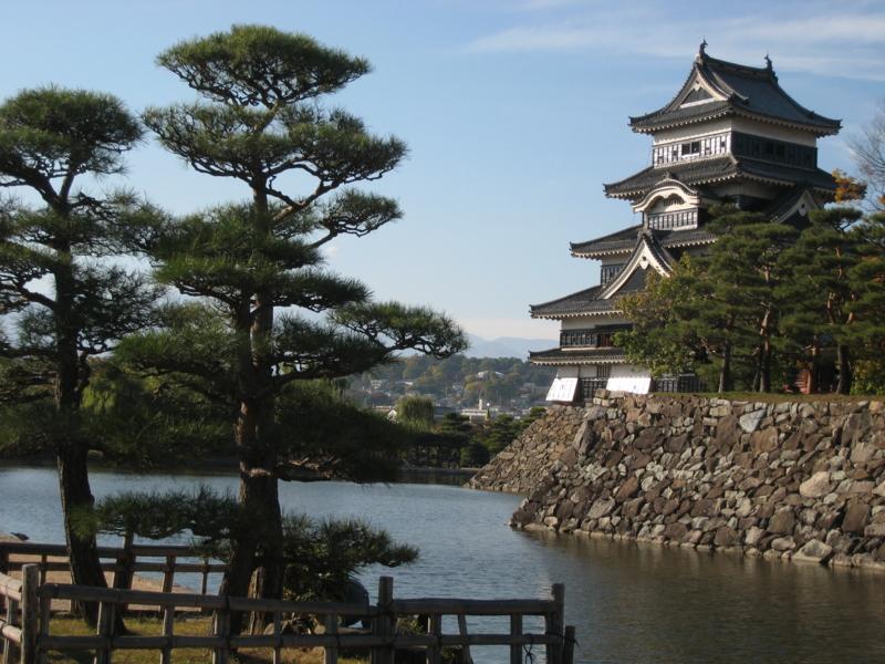 久々の松本城