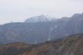 リフトから 遠見尾根越しに鹿島槍ヶ岳