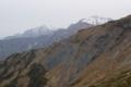 五竜岳の左に鹿島槍ヶ岳 奥に爺ヶ岳も