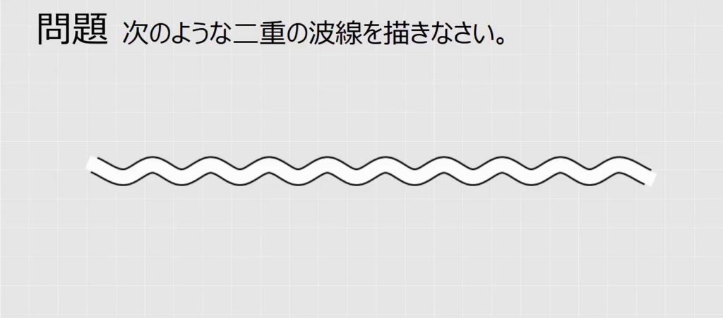 Excelグラフ】二重の波線(省略...
