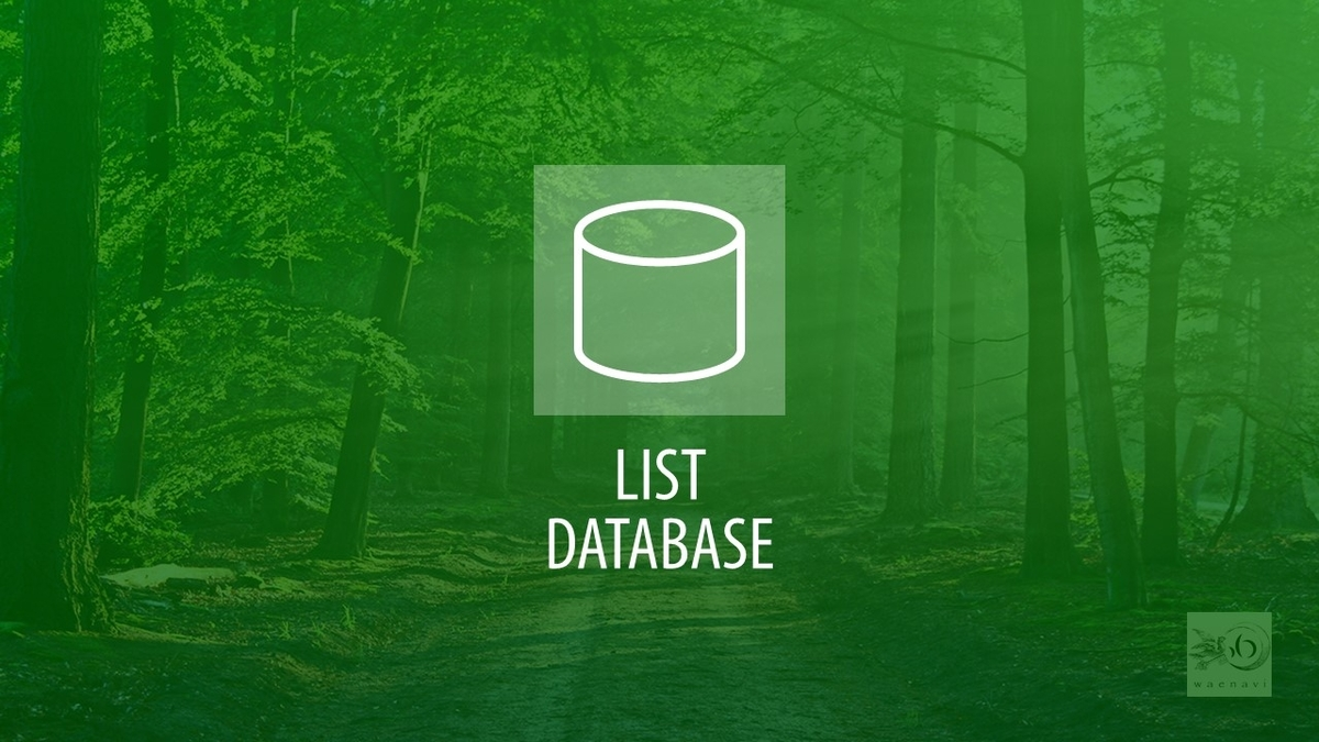 Excelデータベース機能・ジャンプと置換(database list jump replace)