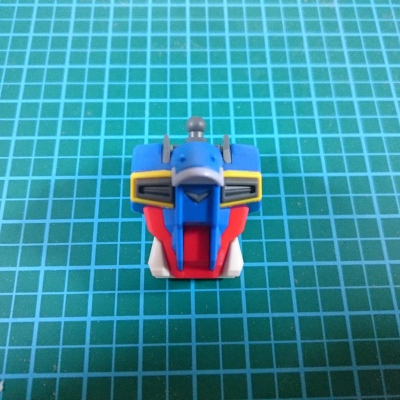 HGCEフォースインパルスガンダム製作2