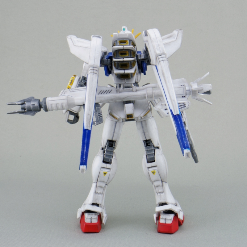 ガンダムF91プラモデル