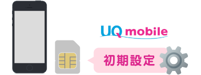 UQの初期設定