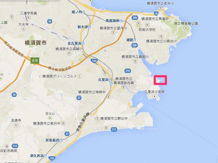 Google_マップ_燈明崎