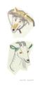 おおかみとヤギ