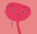 ピンクの人