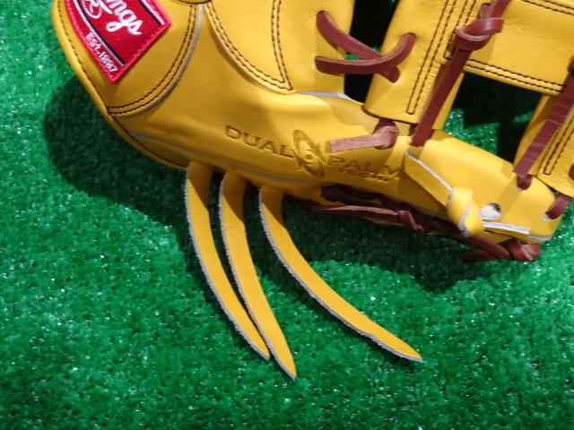 Rawlings GR6HO6S 魅せる捕球が男前 軟式用内野手用グローブ 要モデル