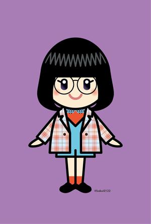 Girls2,小川桜花,私がモテてどうすんだ,イラスト,
