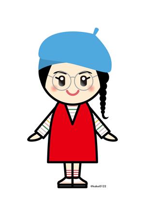 Girls2,増田來亜,私がモテてどうすんだ,イラスト,