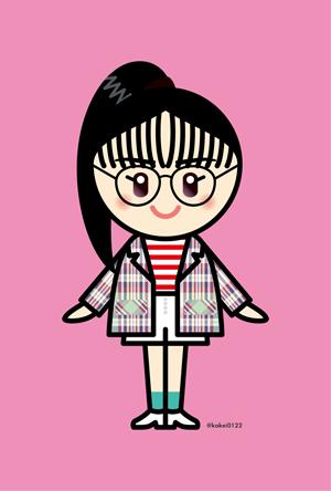 Girls2,菱田未渚美,私がモテてどうすんだ,イラスト,