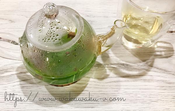 レモンバーベナ ハーブティー 作り方 レシピ ブログ 味 リラックス 庭