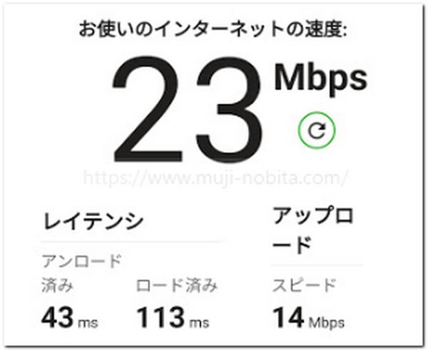 WeBe!(ウィ・ビー)WiFiの通信速度