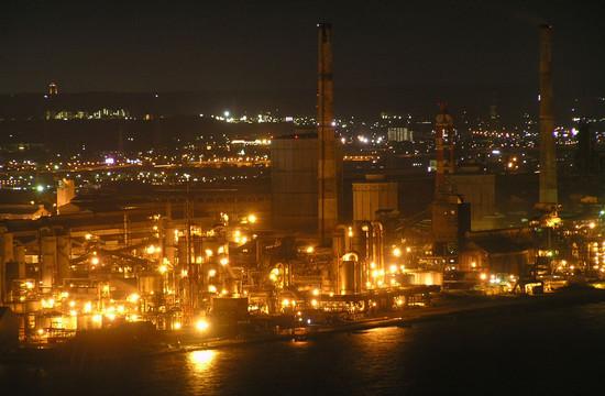 ポートタワーより眺めるJFEスチール東日本製鉄所 ポートタワーより眺めるJFEスチール東日本製鉄
