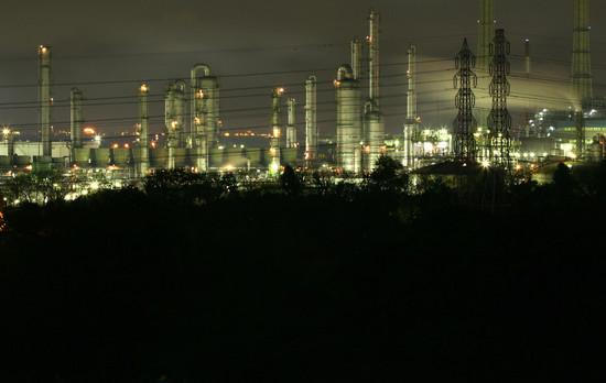 何処までも続く輝き京葉工業地域の輝き