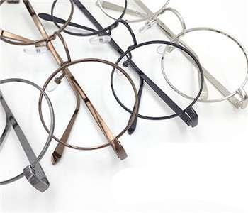 ブランド風メガネフレーム店舗伊達メガネの通販メタル製ラウンド型金属メガネフレーム文芸のデザイ
