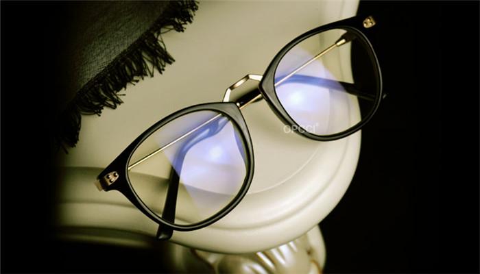 めがねパソコン用メガネ男女おしゃれ海外超軽量近視pcメガネフレーム女子フルリム度なしブルーライトカット