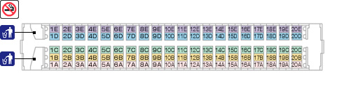 新幹線座席表