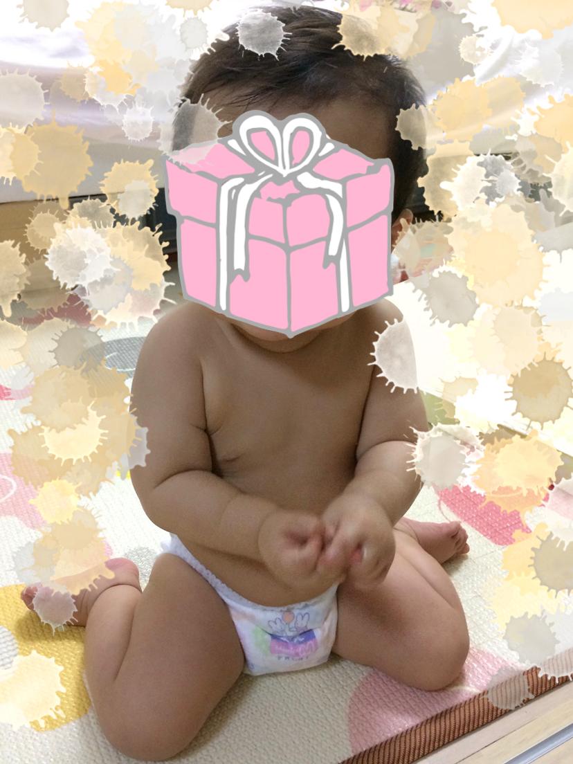 ムチムチ赤ちゃん11ヶ月頃