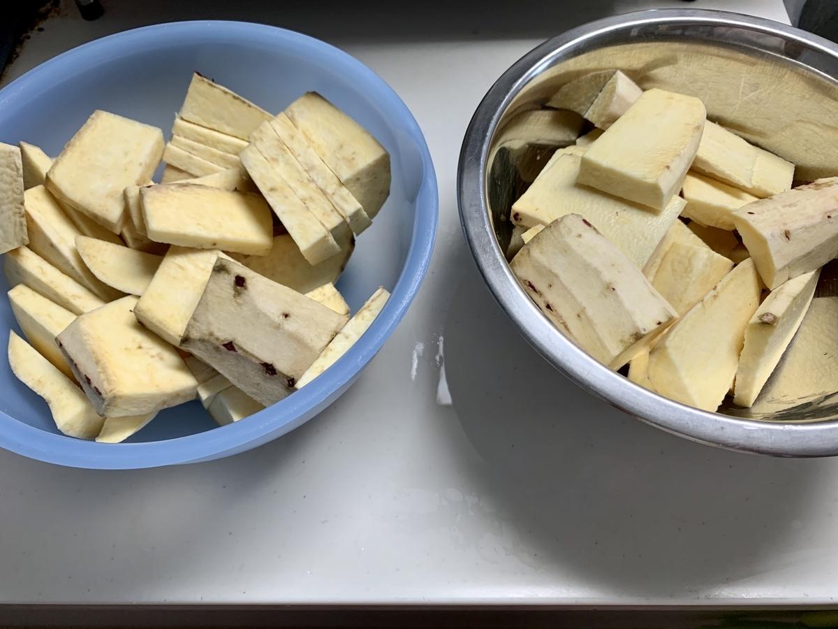 干し芋の作り方!5分でできる超簡単サツマイモのおやつ