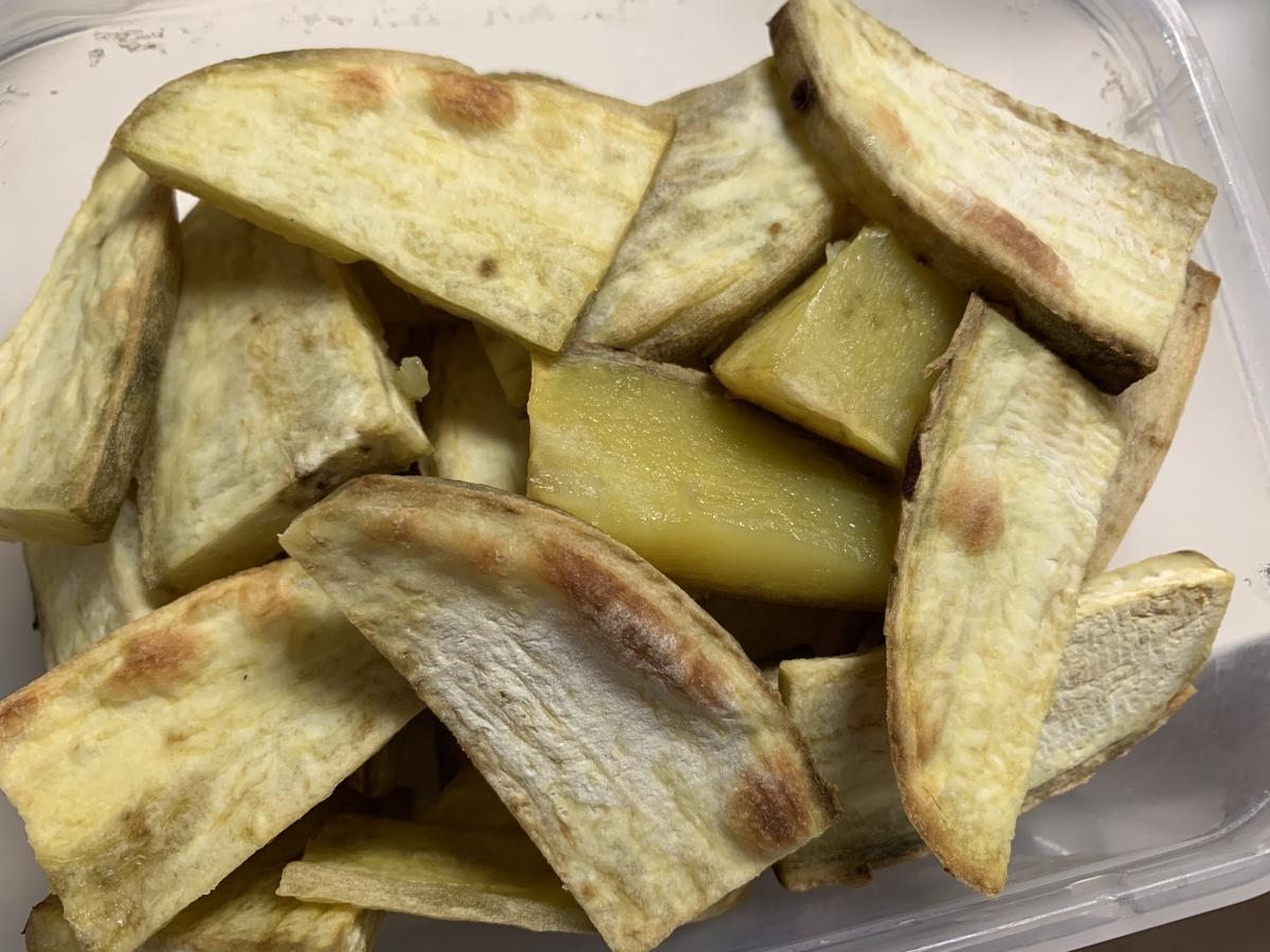 干し芋の作り方!5分でできる超簡単サツマイモのおやつ4
